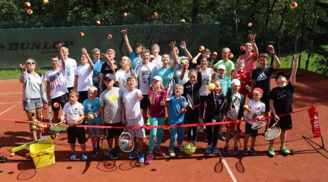 Tenniscamp 2021 findet statt! Anmeldung ab jetzt möglich!