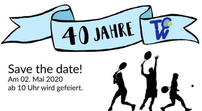 Jahreshauptversammlung und Jubiläumsfeier am 02.05.