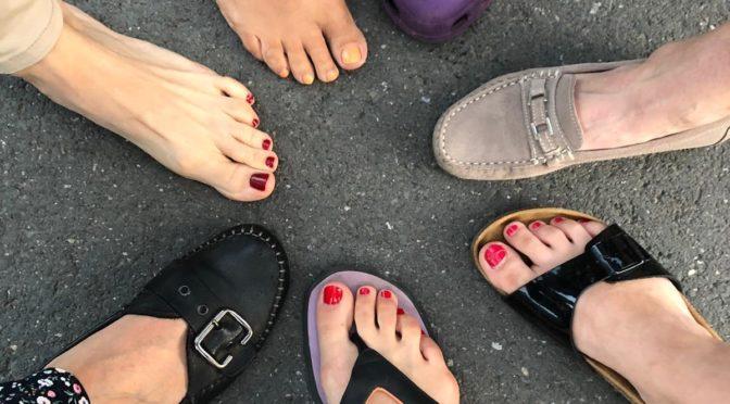 Mit großen Schritten(dicken Zehen) in Richtung Klassenerhalt!